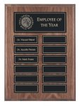 Recognition Pocket Perpetual Plaques Monthly Perpetual Plaques