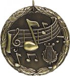 Wreath Music Medal Music Medals