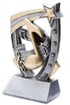 3D Star Music Award Music Trophies