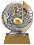 Music 3D Motion Trophy Music Trophies