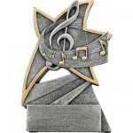Music Jazz Star Resin Music Trophies