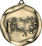 Ribbon Music Medal Music Trophies