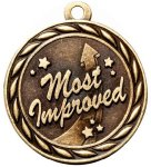 Scholastic Most Improved Medal MVP Medals