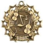 Ten Star Orchestra Medal Orchestra Medals