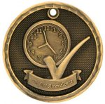 3D Perfect Attendance  Medal Perfect Attendance Medals