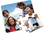 Glossy Square Coaster Puzzle Personalized Puzzles