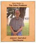 Red Alder Picture Frame Photo Plaques