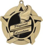 Super Star Physical Education Medal Physical Education Medals