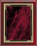 Rosewood Red Marble Mist Plaque Piano Finish Rosewood Plaques