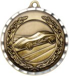 Diamond Cut Pinewood Derby Medal Pinewood Derby | Grand Prix Medals