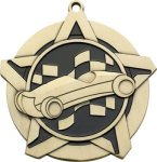 Super Star Pinewood Derby Medal Pinewood Derby | Grand Prix Medals