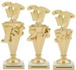 First - Third Place Pinewood Derby Trophies Pinewood Derby Trophies
