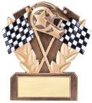 Racing Resin Pinewood Derby Trophies