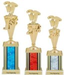 First - Third Place Pinewood Derby Trophies Pinewood Derby