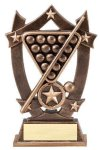 3D Sport Stars Billiards Pool Trophies