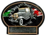 Burst Thru Antique Car Trophy Racing Awards