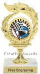Flame Car Show Award Racing
