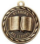 Scholastic Readers Are Leaders Medal Reading Medals
