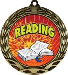 Colorful Reading Medal Reading Medals
