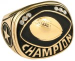 Football Champion Ring Rings