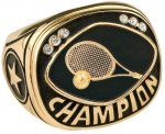 Tennis Champion Ring Rings