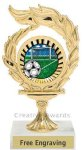 Flame Soccer Award Soccer Trophies