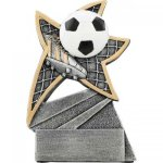 Soccer Jazz Star Resin Soccer Trophies