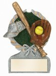 Softball Multi Color Sport Resin Figure Softball Trophies