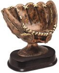 Antique Softball Glove Softball Trophies