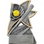 Softball Jazz Star Resin Softball Trophies
