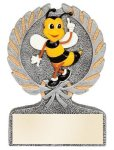 Spelling Bee Multi Color Sport Resin Figure Spelling Trophies