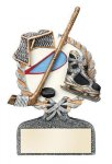 Ice Hockey Multi Color Sport Resin Figure Sport Trophy Awards