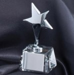 Star On Crystal Base Star Awards