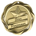Fusion Star Performer Medal Star Performer Medals