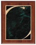Cherry Green Star Sweep Economy Plaque Star Plaques