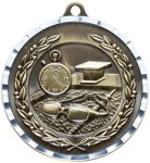 Diamond Cut Swimming Medal Swimming Medals