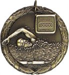 Wreath Swimming Medal Swimming Medals
