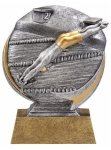Swimming 3D Motion Trophy (Male) Swimming Trophies
