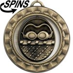 Spinner Swimming Medal Swimming Trophies