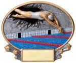 Motion X Oval Swimming Swimming Trophies