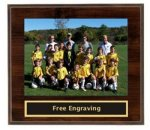 Pop-In Photo Plaque Small Teamwork Awards