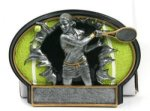 Burst Thru Tennis Trophy (Female) Tennis Trophies