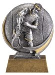 Tennis 3D Motion Trophy (Male) Tennis Trophies