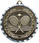 Diamond Cut Tennis Medal Tennis Trophies