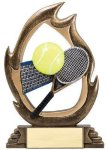 Flame Series Tennis Tennis Trophies