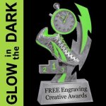 GLOW in the DARK Track Trophy Track Trophy Awards