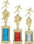First-Third Place Track Trophies Track