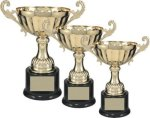 Gold Metal Loving Cup Trophy Cups