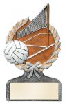 Volleyball Multi Color Sport Resin Figure Volleyball Trophies