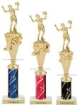 First-Third Place Volleyball Awards Volleyball Trophies